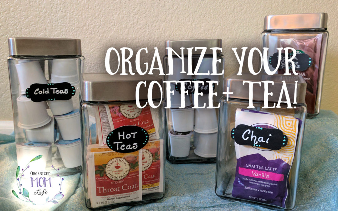 Organized Tea and Coffee